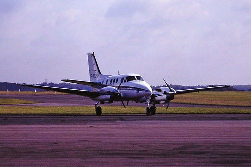 F-BSRP Beech King air Rapid air CVT 02-09-1982