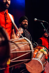 The Dhol Foundation (bandonthewall) Tags: dholfoundation worldmusic manchester bandonthewall newnorthandsouth newnorthsouth concert gig live indian drum