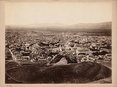 Το 3ο μέρος ενός πεντάπτυχου πανοράματος της Αθήνας (Giannis Giannakitsas) Tags: αθηνα athens athenes greece grece griechenland 19th century 19οσ αιώνασ pascal sebah