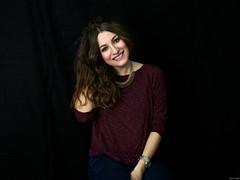 Vanesa (Luicabe) Tags: blancoynegro cabello chica enazamorado estudio femenino fondonegro gente humano interior joven luicabe luis monocromático mujer posado retrato vanesa yarat1 zamora zoom