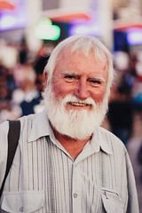 White beard (jodaarba) Tags: portr portrait street smile beard white