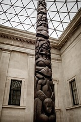 Kayung (Haida) totem pole, 1850 (dorinser) Tags: kayung totempole britishmuseum art pacificnorthwest haida haidagwaii carving sculpture