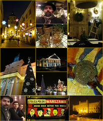 01 Lublin collage (bisbogus) Tags: travel city night lublin