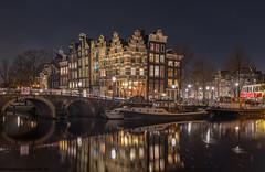 de papiermolensluis in Amsterdam op vrijdag 16 februari