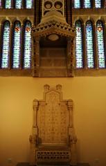 Astorga (León). Palacio Episcopal de Antonio Gaudí. Salón del trono (santi abella) Tags: astorga león castillayleón españa palacioepiscopaldeastorga antoniogaudí arquitecturamodernista