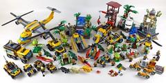 LEGO City Jungle All Sets 31 (noriart) Tags: lego city jungle all sets