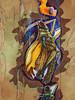 Like a Plague of Locusts (Steve Taylor (Photography)) Tags: locust neonsavage insect art digital graffiti pasteup wheatup wheatpaste streetart tag bird duck duckling uk gb england greatbritain unitedkingdom london texture