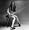 Vintage Tricia 5 (neohypofilms) Tags: vintage portrait bw blackandwhite tall long legs hair retro fashion style gritty shoes clogs skirt shadows swedish 2018 120 medium format film hasselblad art 60s 70s classic hippie
