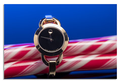 Movado Blue. (johnhjic) Tags: johnhjic nikon d850 studio broncolor siros s800 swiss movado flash candy sweet sweets reflection reflections background elegant fashion style white blue gold red black product watch watches ladies lady