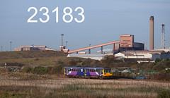 robfrance5d2_23183_301017_x142096_cottam_marsh_redcar_2d98_nt_edr16lr6pse15weblowres (RF_1) Tags: 142 142096 2017 arriva brel britain britiain britishrailengineering class142 cleveland cottammarsh cumminslt10r db deutschebahn dieselmultipleunit dmu england franchise leyland localtrain localtrains middlesboroughsaltburn middlesboroughtosaltburn northern northernengland northernrail pacer passengertrain publictransport railway railways redcar stoppingtrain stoppingtrains teesside teeside train trains transport travel traveling uk unitedkingdom