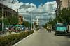 In den Straßen von Camagüye (Augenmerker) Tags: kuba camagüye street verkehr bunt farbenfroh sonnenschein fremdesland schön traumhaft pferde kutsche bus fahrradtaxi
