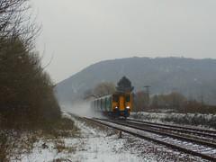 150231 (Jacquack) Tags: snow castell coch 150231 morganstown crossing level arriva trains wales trenau cymru weather cardiff caerdydd class 150 castle st david day