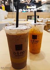 o-li-no drinks (Zelle Manzano) Tags: olino drinks iceddrinks cocoa chanom thaimilktea cafe futurepark rangsit thailand