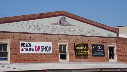 old wool store in Goulburn, NSW, Australia