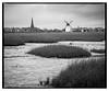 Lytham_RB67_delta-4 (D_M_J) Tags: lytham windmill wind mill landscape fylde coast north west lancashire uk film camera roll 120 medium format 6x7 mamiya rb67 180mm sekor ilford delta 100 pro kodak hc110 epson v850 vuescan black white bw blackandwhite mono monochrome