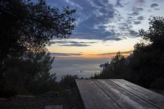 2018 winter on the Riviera [XI] (Olivier So) Tags: france frenchriviera riviera monaco montecarlo sunset sky clouds parcducros alpesmaritimes