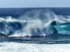 Ocean spray (sunset1uk) Tags: lanzarote canaryislands waves sea atlanticocean spray water