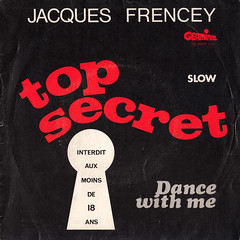 Jacques Frencey & Sonia Reff - Top secret 45rpm (oopswhoops) Tags: vinyl 45rpm novelty explicit slow blackandred germinal french