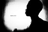 Silhouette (Stephenie DeKouadio) Tags: canon art artistic artwork blackandwhite monochrome portrait selfportrait silhouette