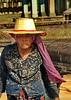 (Erik Christensen242) Tags: cambodia angkorwat siemriep color woman hat colour old