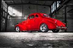 1937 Chevrolet Master De Luxe  - Shot 1 (Dejan Marinkovic Photography) Tags: 1937 chevy chevrolet masterdeluxe master deluxe business coupe hotrod streetrod hot rod street american classic red