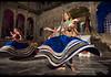 Women performing the traditional veiled Ghoomar dance, Udaipur, Rajasthan, India (jitenshaman) Tags: asia asian travel destination worldlocations india indian rajasthan rajasthani udaipur dharohar dance dancer dancers perform performing costume traditional tradition gumar talent talented entertain entertainment culture cultural ethnic performer performers performance spin whirl dervish dervishes spinning veil gungat rajput ghoomar ghumar
