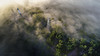 Mount Warrenheip (Mark McLeod 80) Tags: ballarat dji drone fog mtwarrenheip phantom4pro summer aerial trees dunnstown victoria australia au