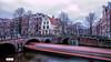 Amsterdam BOOOOOOOOT (Reina Smallenbroek) Tags: reinasmallenbroek amsterdam boot boat water buidlings gebouwen bridge brug le longexposure leefilters
