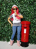 Curvy MTM (FreeRangeBarbie) Tags: barbie curvy diorama mattel fashiondoll miniature england london mailbox starbucks hipster streetstyle