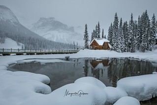 Winter Moning at Emerald Lake