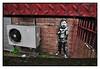 STREET ART by DOTMASTERS (StockCarPete) Tags: rudekid streetart londonstreetart urbanart london uk finger kid rude dotmasters