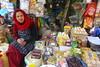 Pretty Shopkeeper (Jeff Athey Newman) Tags: shopkeeper nepal kathmandu