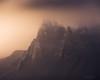 Arisen (laanscapes) Tags: 500px sunrise fog sunset sun twilight raven mountain dawn moody dusk atmospheric dramatic sky iceland moon setting alpenglow olafsvik laanscapes daniel laan