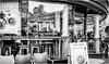 Newcastle Upon Tyne . (wayman2011) Tags: f2 fujifilmxf23mm lightroomfujifilmxpro1 wayman2011 bw mono urban street cafes cafeculture people city town tynewear tyneside newcastle uk