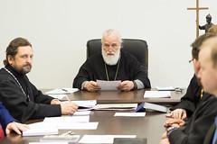 Патриарший Экзарх возглавил очередное заседание Ученого совета Минской духовной академии