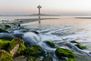 Water Tower (alvinpurexphotography) Tags: lowsutterspeed landscape seascape ksa khobar canonme cornichgrapher colorsofsaudiarabia haida