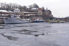 Minesweeper MS413 Alta (1953) in Oslo, Norway (Ingunn Eriksen) Tags: ms413 minesweeper akershusfestning oslo norway akershusfortress akershuskaia ice oslofiord oslofjorden nikond750 nikon