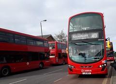 Arriva London North DW433 LJ11AEA | 401 to Bexleyheath, Shopping Centre (Unorm001) Tags: red london double deck decks decker deckers buses bus routes route diesel dw433 dw 433 lj11aea lj11 aea 401