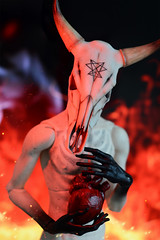 (Kumaguro) Tags: bjd abjd immoralityofsoul ios taurus iostaurus dark gothic occult demon devil satan flame heart