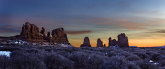 Serenity (McKendrickPhotography.com) Tags: archesnationalpark sunset winter utah moab landscapes dreams landscapesdreams greatphotographers