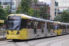 Tram 3004 - Manchester (GreenHoover) Tags: manchestermetrolink tram trams m5000 bombardier 3004