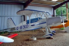 G-BZKD  Stolp SA.300 Starduster Too [1] Enstone~G 09/07/2004 (raybarber2) Tags: 1 abpic airportdata approachtodo biplane cn1 egtn flickr gbzkd single ukcivil