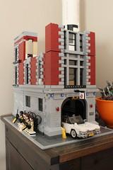 Lego (daveandlyn1) Tags: lego building firestation ghostbusters car legofigures iii f3556 efs1855mm 1200d eos canon