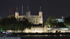 Night Castle. (edk7) Tags: olympusomdem5 edk7 2017 uk england london londonboroughoftowerhamlets londonec3 toweroflondon military hermajestysroyalpalaceandfortressofthetoweroflondon 11th13thc castle riverthames architecture building oldstructure embankment crenelations battlements