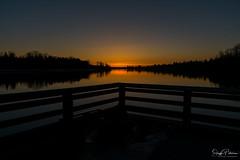 Fraser River Sunset - Port Haney Wharf (SonjaPetersonPh♡tography) Tags: mapleridge fraserriver porthaney britishcolumbia bc canada porthaneywharf wharf sunset nikon nikond5300 pier sky nightphotography nightscenes silhouettes
