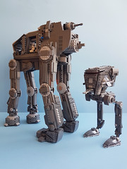 Lego Star Wars UCS AT-M6 (kozikyo86) Tags: lego star wars atm6 gorilla walker first order mod moc ucs last jedi crait battle atst