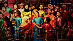 """INDONESIEN, Java, Bandung, Beim Angklung-Spiel (Bambusinstrument), 17175/9676 (roba66) Tags: reisen travel explorevoyages urlaub visit roba66 asien südostasien asia eartasia """"southeastasia"""" indonesien indonesia """"republikindonesien"""" """"republicofindonesia"""" indonesiearchipelago inselstaat java angklung musik musikinstrument bambus musical instrument harmony hamonie brauchtum tradition child children kids kinder"""