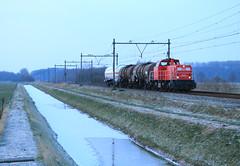 DB Cargo 6454 @ Harculo (Sicco Dierdorp) Tags: db dbc cargo serie6400 unitcargo kijfhoek onnen deventer wijhe harculo zwolle omleiding werkzaamheden ijssellijn ketelwagen keteltrein