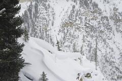 Unphotogenic Canyon with SASTRUGI (V.C. Wald) Tags: grandcanyonoftheyellowstone blizzard sastrugi yellowstonenationalpark yellowstoneinwinter tamron16300mmdiiipzd