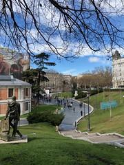 "Museo Del Prado, Madrid (Luz D. Montero Espuela. 3.5 million visits. Thanks) Tags: ""luzdmonteroespuela"" azul luz día prado museo ""museoprado"" madrid españa europa"